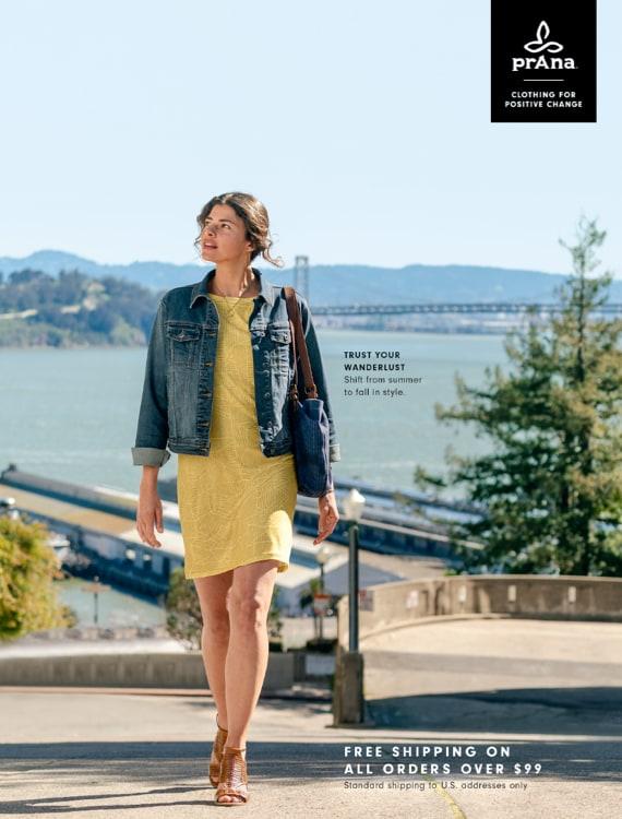 Digital Catalog - Catalog 1 | Trust Your Wanderlust | prAna