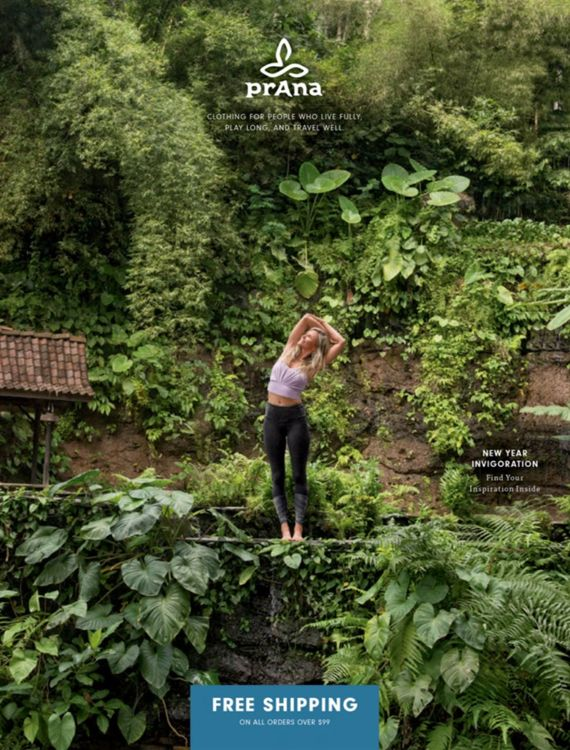 Digital Catalog - Spring Catalog 0.5 | New Year Invigoration | prAna